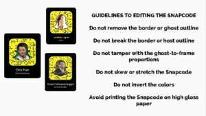 guidelines for snapcode