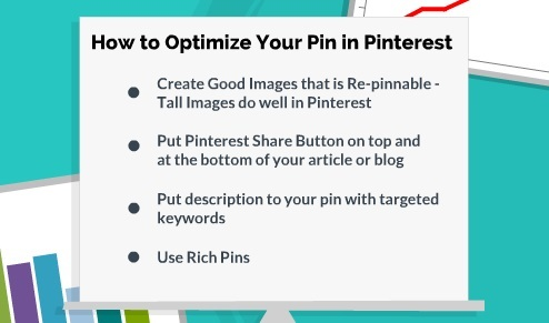 how to optimize your pin in pinterest