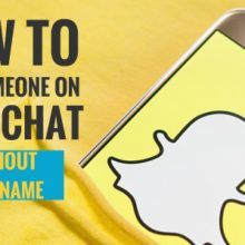 how to find someone on snapchat without username 1