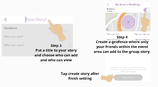 how to use group story 6