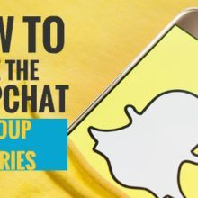 how to use snapchat group stories 1