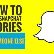 How to send snapchat stories to someone else (cover)