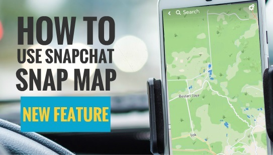 How to use Snapchat Snap Map 1
