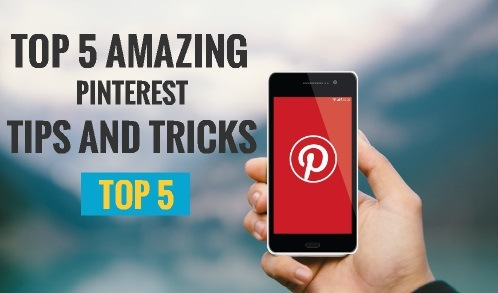 top 5 pinterest tips and tricks