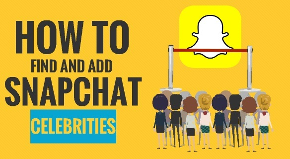 How to Find and Add Snapchat Celebrities 1