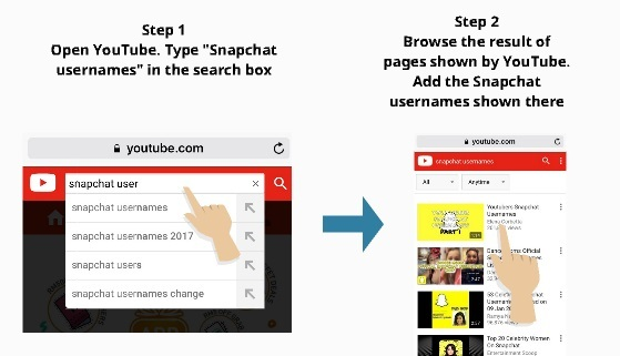 find snapchat usernames in youtube 4