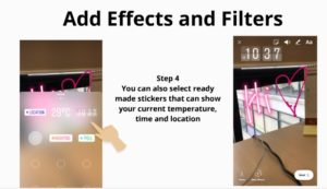Instagram stories effects and filters 3