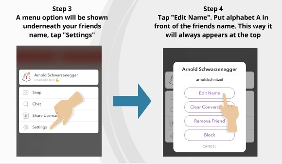 Keep track of your snapstreak friends 2