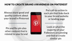how to create brand awareness on pinterest
