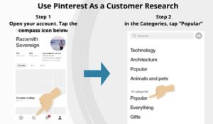 use pinterest as a customer research 1