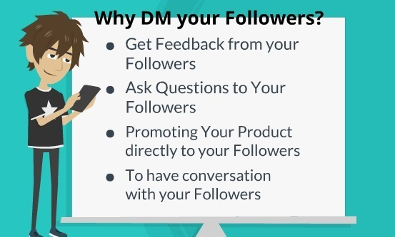 Why DM Your Followers