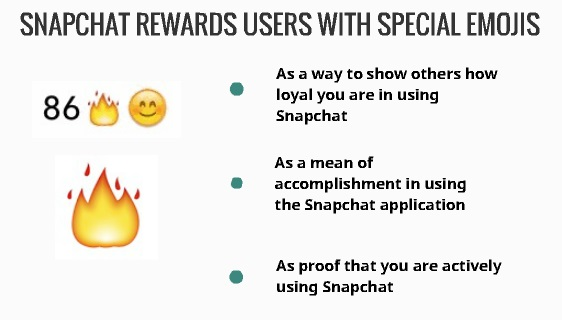 Snapchat reward users with special emojis