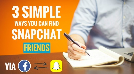 how to add my facebook friends to snapchat