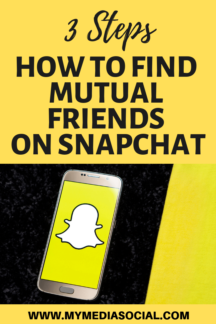 What does it mean when it says mutual friends on snapchat