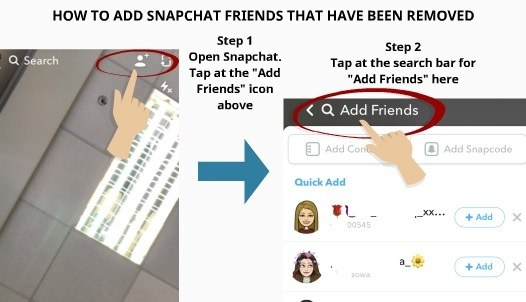 How to clear old friends on snapchat