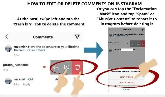 How to Edit and Delete Comments on Instagram - My Media Social