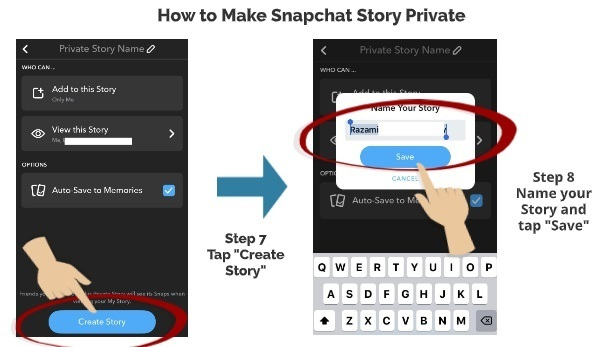 How To Make Your Snapchat Story Private Simple Steps My Media